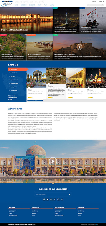 Beautiful Iran - Home page