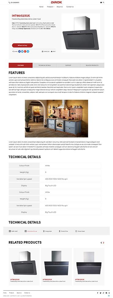 DIROK - جزئیات محصول