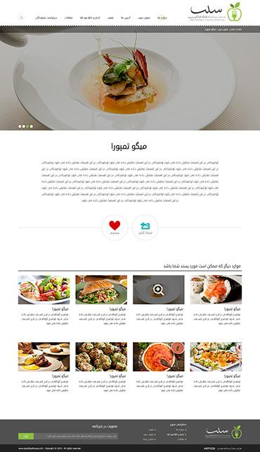 رستوران خانه غذای سیب - توضیحات غذا